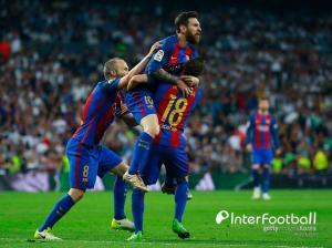 [엘클라시코 리뷰] '메시 극적 2골' 바르사, 10명 싸운 레알에 3-2 대역전승...선두 탈환